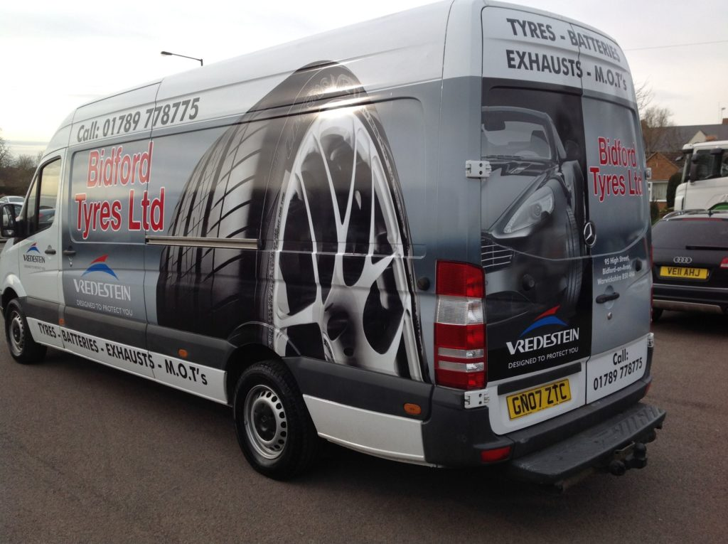Space Graphic Solutions Vehicle Signage Warwickshire Midlands