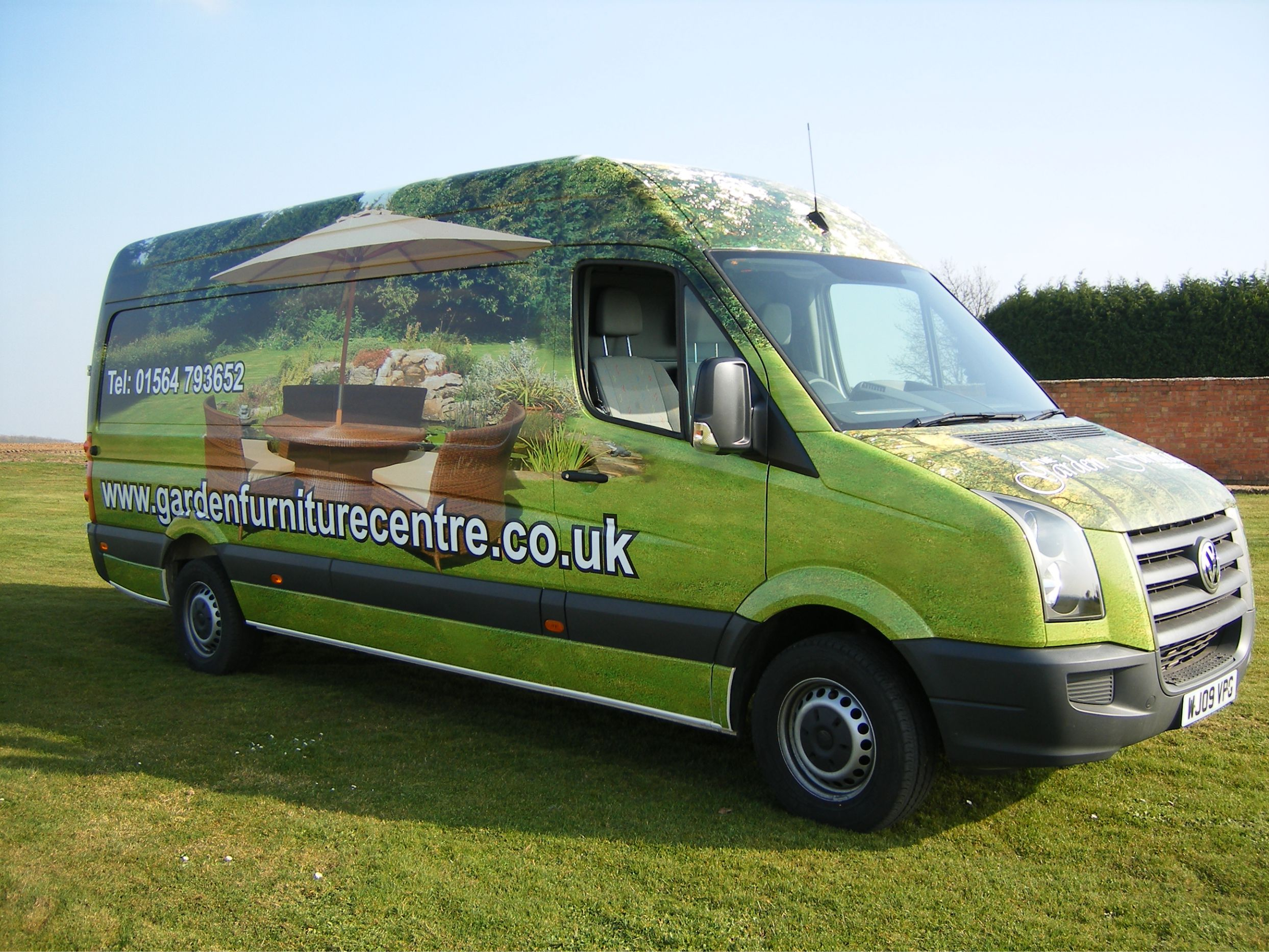 Space Graphic Solutions Vehicle Signage Warwickshire Vehicle Wrapping
