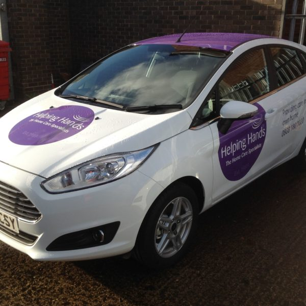Space Graphic Solutions Services Gallery Vehicle Signage Warwickshire