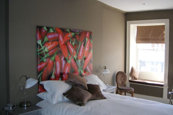 Space Graphic Solutions Wide Format Printing Customised Cavases Warwickshire Stratford upon Avon Red Chillies Headboard