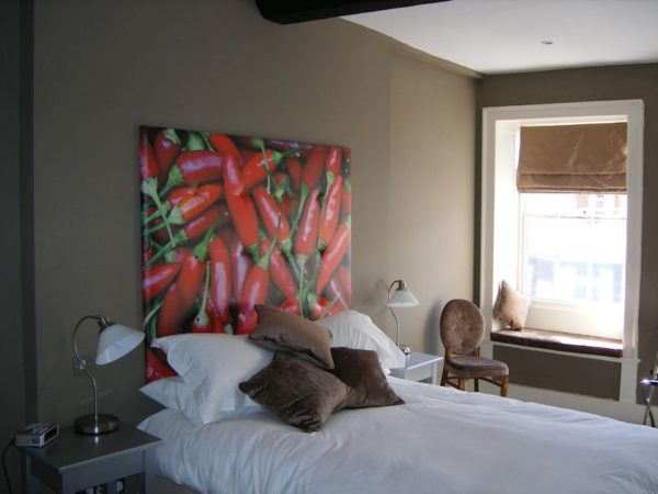 Red Chillies Headboard