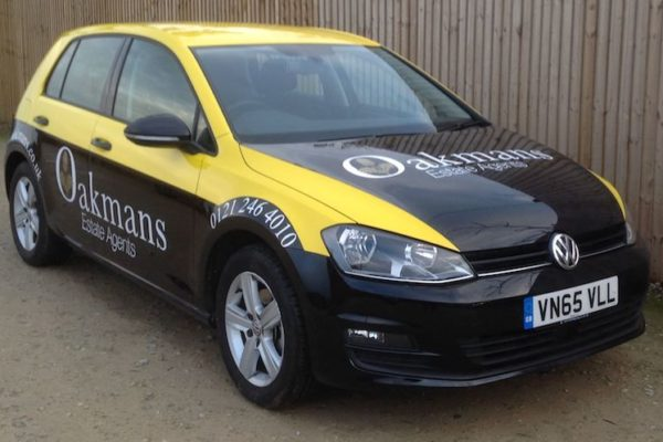 Space Graphic Solutions Full Vehicle Wraps Stratford upon Avon Oakmans Estate Agents