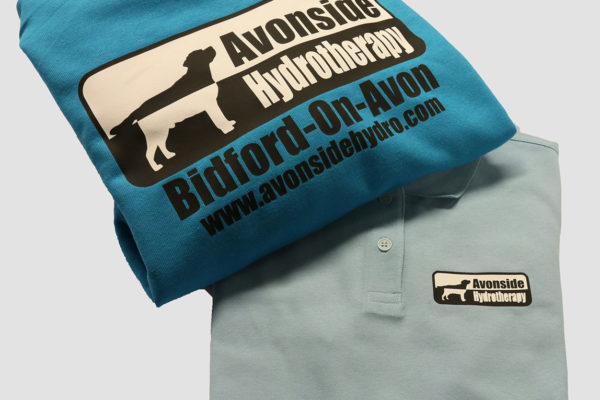 Space Graphic Solutions Digital Printed Clothing and Workwear Bidford on Avon, Warwickshire Avonside Hydrotherapy
