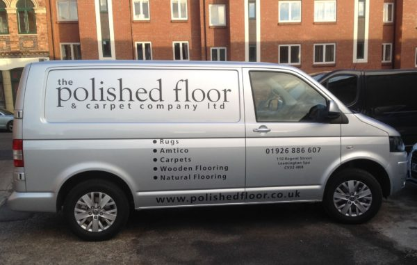 The Polished Floor Vehicle Livery
