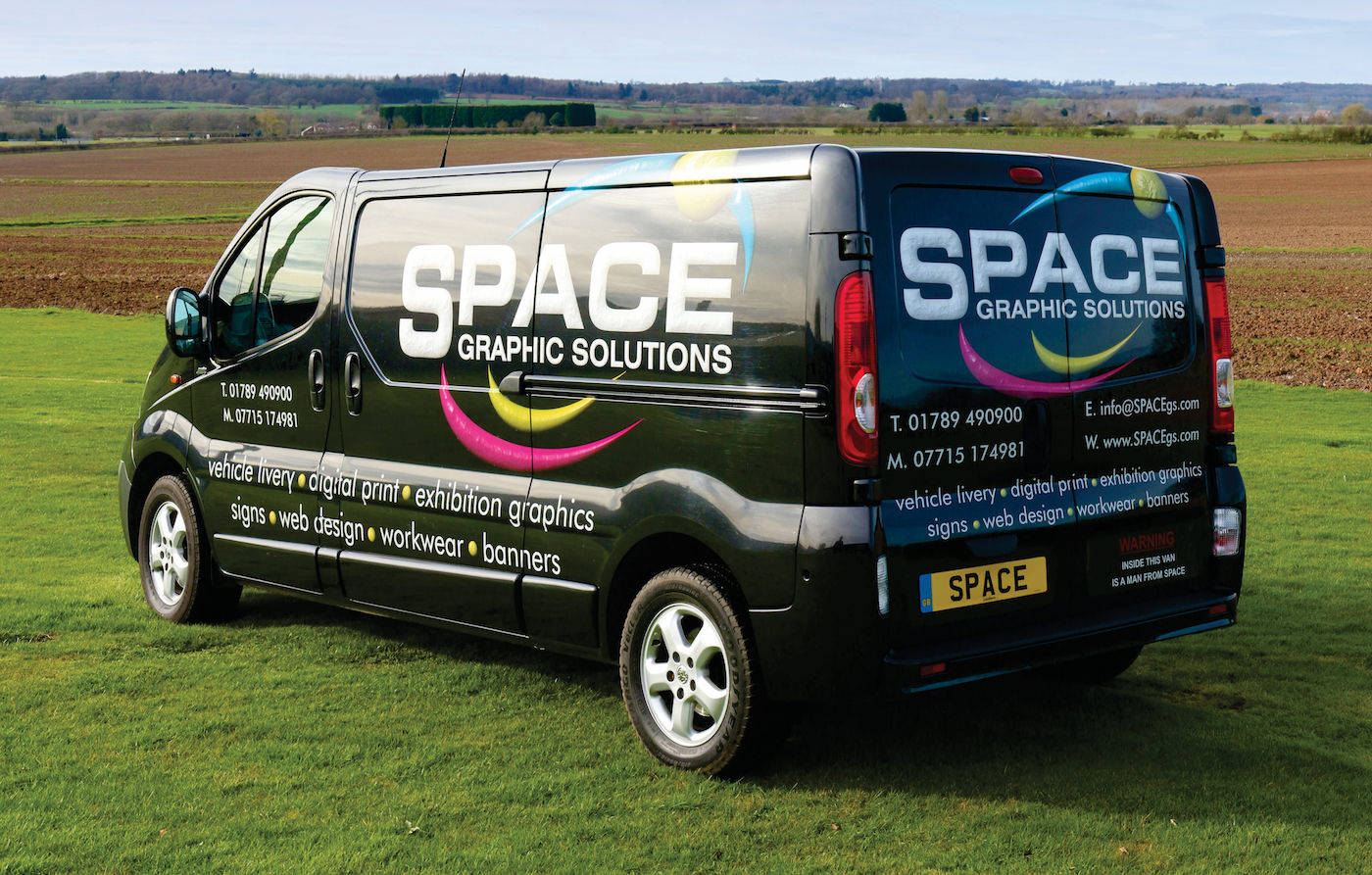 Space Graphic Solutions - Full Vehicle Wraps - Stratford upon Avon